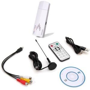 Unbranded UTV001 USB TV Stick with FM Radio and Remote