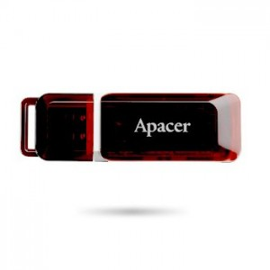 Apacer Handy Steno AH321 2GB Flash Drive - Dark Red