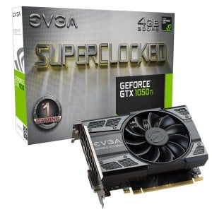 EVGA GEFORCE GTX1050TI 4GB SC VGA CARD