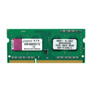 Kingston 1GB 1066MHZ DDR3 Laptop Memory Module (KVR1066D3S7/1G)