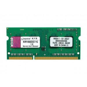 Kingston 1GB 1066MHZ DDR3 Laptop Memory Module (KVR1066D3S7/1G)