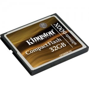 KINGSTON ULTIMATE COMPACTFLASH 600 32GB