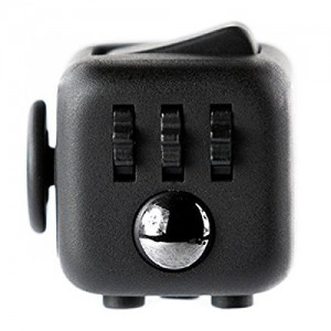 VHEM Fidget Cube Stress And Anxiety Toy-Black