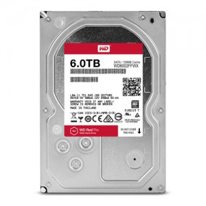 """WD RED PRO/HDD/6TB/3.5""""/SATA3/128MB CACHE"""