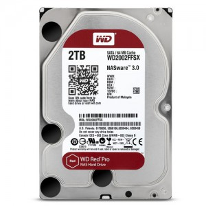 WD RED PRO 2.0TB 7200RPM 64MB HDD