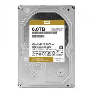 WD GOLD/HDD/6TB/3.5''/SATA3/128MB CACHE