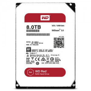 """WD RED/HDD/8TB/3.5""""/SATA3/128MB CACHE"""
