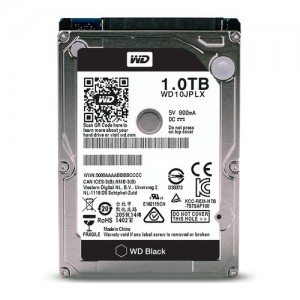 "WD BLACK 1.0TB 2.5"" 7200RPM 32MB HDD"