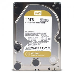 WD GOLD/HDD/1TB/3.5''/SATA3/7200RPM/128MB CACHE