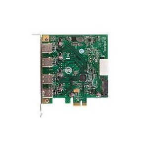 Unbranded E0001 PCI-e to 4 Port 3.0 USB Card