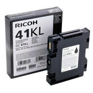 Ricoh 405765 Ink Cartridge - Black Ricoh GC41KL Printer Cartridge