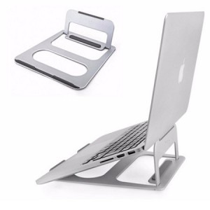 Unbranded CL-03 Folding Laptop/Notebook Stand Silver