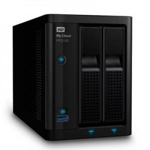 WD WDBBCL0040JBK-EESN MY CLOUD PR2100/4TB/NAS/2BAY/1.6HGZ CPU/2xUSB3.0/2xGB ETHERNET PORTS/3YEAR