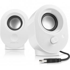 Speedlink Snappy Speakers - White (SL-8001-WE)