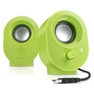 Speedlink Snappy Speakers - Green (SL-8001-GN)