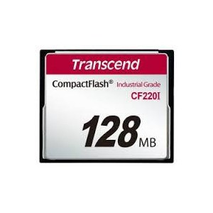 TRANSCEND 128MB CF220I INDUSTRIAL GRADE CF CARD - SLC
