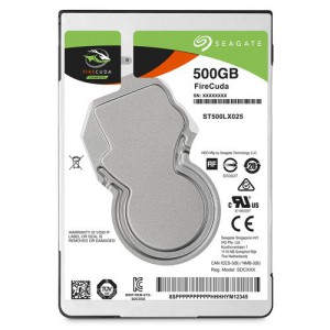 SEAGATE MOBILE SSHD 500GB 5400RPM SATA 6GB/s 128MB CACHE