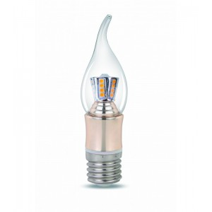 CE270 LED CANDLE LIGHT 4W E27 CLEAR 2700