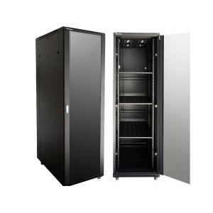 27U 800 Deep Cabinet 4 Fans & 2 Shelves