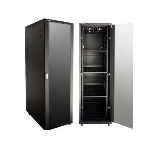42U 1M Deep Cabinet 4 Fans & 3 Shelves