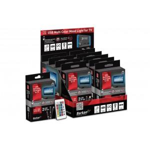 Barkan L10 LED mood lighting kit for back of TV and screens