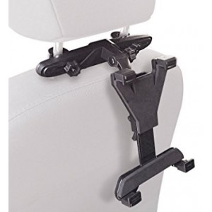 Barkan T30 Universal tablet computer head rest mount for car