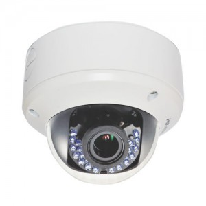 Hikvision Turbo HD-TVI Dome Camera  IR 40m Vari-Focal 2.8-12mm IP66 (2.1 Megapixel)