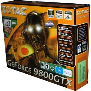 ZOTAC GeForce 9800 GTX - AMP! Edition - graphics card - GF 9800 GTX - 512 MB