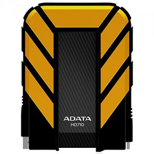 ADATA HD710 2TB USB 3.0 Waterproof/ Dustproof/ Shock-Resistant External Hard Drive - Yellow
