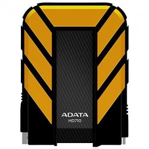 ADATA HD710 2TB USB 3.0 Waterproof/ Dustproof/ Shock-Resistant External Hard Drive - Yellow