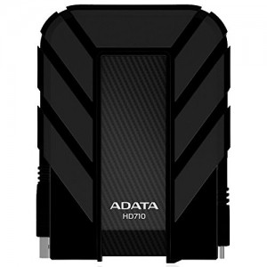 ADATA HD710 2TB USB 3.0 Waterproof/ Dustproof/ Shock-Resistant External Hard Drive - Black