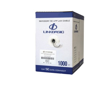Linkbasic Cat5e Solid Cable 305m