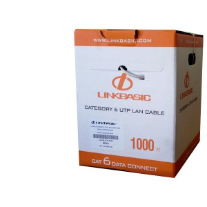 Linkbasic Cat6 Solid Cable 305m meter (Pure Copper)