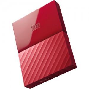 WD MyPassport Lumen 1TB 2.5' USB3.0 Red WDBYNN0010BRD