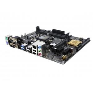 ASUS H110M-K/INTEL/LGA 1151/DDR4 2*DIMM/MATX (AS-H110M-K)