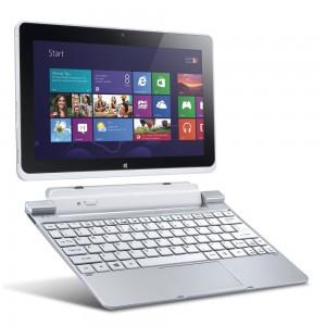"""Acer Iconia W510, Atom Z2760, 2GB, 32GB SSD, 10.1"""", Silver, Widows 8"""