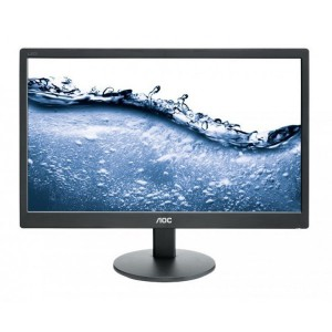 AOC E2070SWN/73 Monitor 19.5 1600x900, 16.7 million colours, VGA, VESA