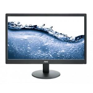 AOC E2070SWN/73 Monitor 19.5 1600x900, 16.7 million colours, VGA, VESA