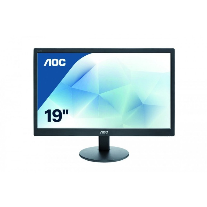 AOC 18.5 inch LED Monitor, VGA, Vesa E970SWN