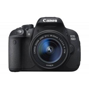 Canon EOS 700D Digital SLR Camera (EF-S 18-55 mm f/3.5-5.6 IS STM Lens, 18 MP, CMOS Sensor, 3 inch LCD)