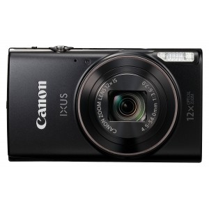 Canon IXUS 285 Compact Camera with 3 inch LCD Screen - Black