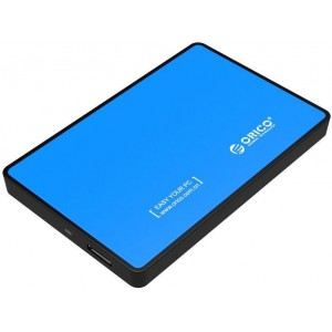 Orico 2.5' U3 External HDD Enclosure Blue (2588US3-V1-BL)