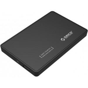 Orico 2.5' USB3.0 External HDD Enclosure Matt Black (2588US3-V1-BK)