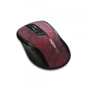 Rapoo 5.8GHz Wireless Optical Mouse (7100P Red