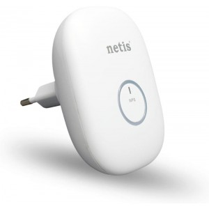 Netis 300Mbps Wireless N Range Extender (white)E1+