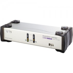 ATEN 2 PORT USB DUAL VIEW KVM SWITCH (CS1742)