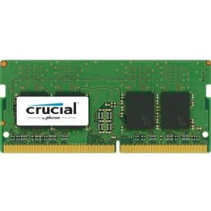 Crucial 8GB DDR4 2400MHz SO-DIMM Single Rank (CT8G4SFS824A)