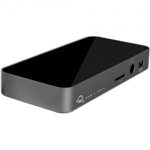 OWC 10 Port USB-C with 80W Power Supply Space Gray Dock