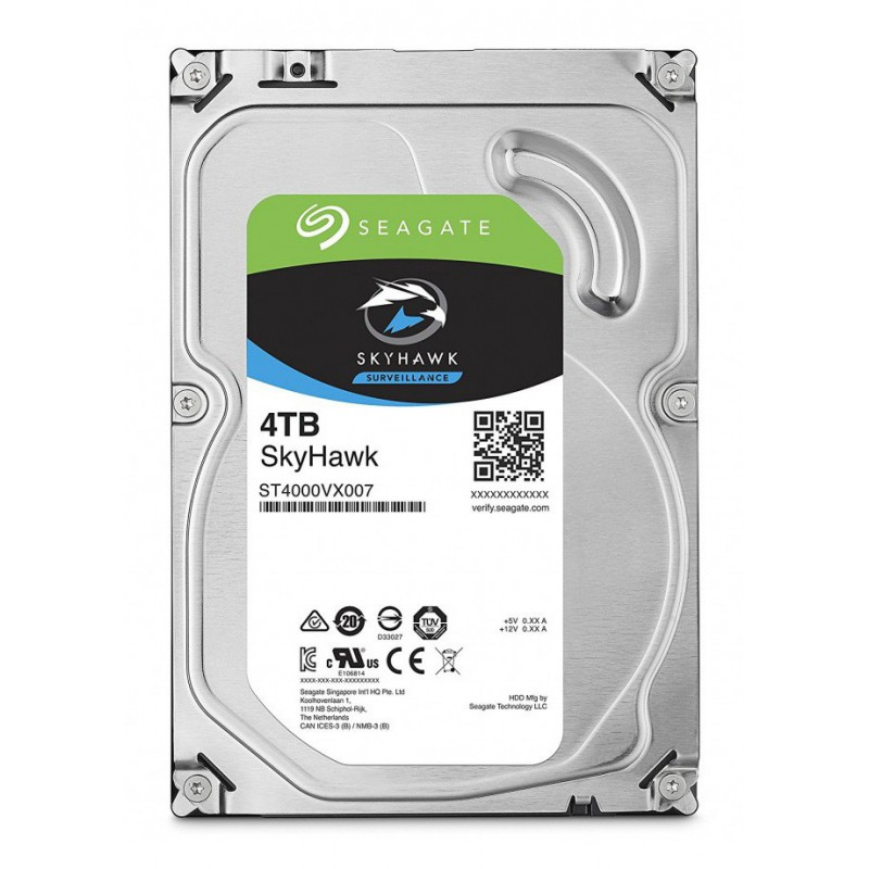Seagate SkyHawk 3.5'' Surveillance HDD Hard Drive 5900RPM SATA 6GB/s 64MB Cache- 4 TB