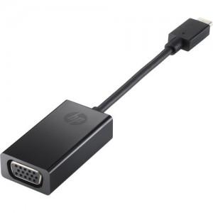 HP Accessories - USB-C to VGA Adapter (N9K76AA)